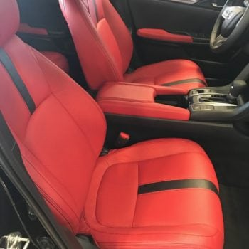Two Tone Leather Seats